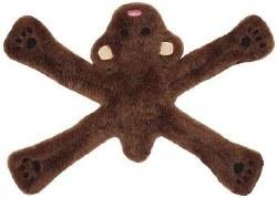 Doggles - Dog Toy - Plush Pentas - Brown Bear