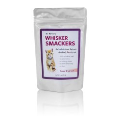 Dr. Harvey's - Whisker Smackers Beef - Cat Treats - 1 oz