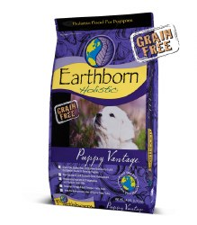 Earthborn Holistic - Puppy Vantage - Dry Dog Food - 28 lb