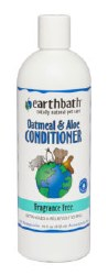 Earthbath - Oatmeal and Aloe Conditioner - Fragrance Free - 16 oz