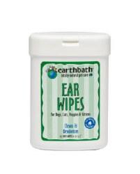 Earthbath -  Ear Wipes - 25 ct