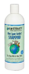 Earthbath - Hot Spot Relief Shampoo - Tea Tree Oil and Aloe Vera - 16 oz