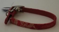 Fab Dog - Cat Collar - Red Asian - Large