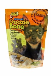 Fido - Dog Treats - Doozie Bones - Peanut - Mini - 21 pack