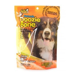 Fido - Dog Treats - Doozie Bones - Carrot - Large - 4 pack