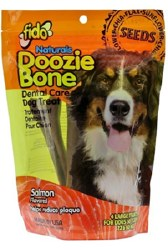 Fido - Dog Treats - Doozie Bones - Salmon - Large - 4 pack