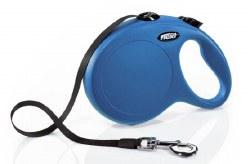 Flexi - Classic Tape Retractable Dog Leash - Blue - Large - 26'