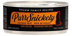 Fromm PurrSnickety - Chicken Pate - Canned Cat Food - 5.5 oz