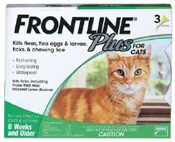 Frontline Plus - Cat - 3 months