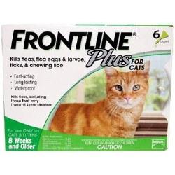 Frontline Plus - Cat - 6 months