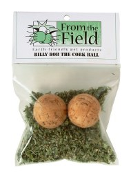 From the Field - Cat Toy - Billy Bob the Cork Ball - 2 Pack