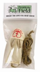 From the Field - Cat Toy - Shelby the Hemp Mouse - Long Tail
