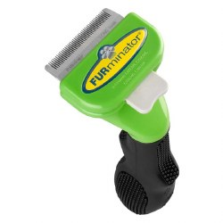 Furminator - Deshedding Tool - Long Haired Dog - Small