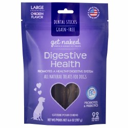 Get Naked - Dental Treats - Digestive Health - Large - 6.6 oz