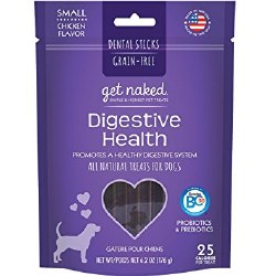 Get Naked - Dental Treats - Digestive Health - Small - 6.2 oz