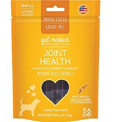 Get Naked - Dental Treats - Joint Health - Small - 6.2 oz