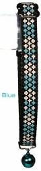 Goli Design - Cat Collar - Reflective Crosses - Blue