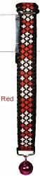 Goli Design - Cat Collar - Reflective Crosses - Red