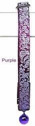 Goli Design - Cat Collar - Flora and Fauna - Purple