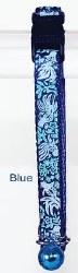 Goli Design - Cat Collar - Reflective Golifish - Blue