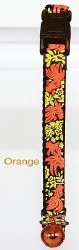 Goli Design - Cat Collar - Reflective Golifish - Orange
