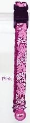 Goli Design - Cat Collar - Reflective Golifish - Pink