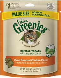 Greenies - Chicken Flavor Dental Treats - Cat Treats - 5.5 oz