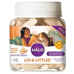 Halo - Cat Treats - Liv-A-Littles - Chicken - 2.2 oz