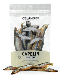 Icelandic+ - Dog Treats - Capelin Whole Fish - 2.5 oz