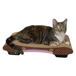 Imperial Cat - Cardboard Scratcher - Bella Sofa - Polka Dots