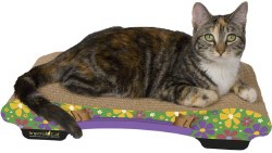 Imperial Cat - Cardboard Scratcher - Bella Sofa - Retro B