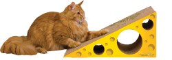 Imperial Cat - Cardboard Scratcher - Cheese Wedge