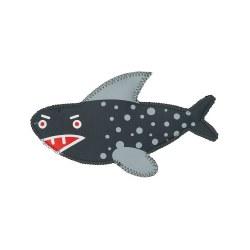 Jax & Bones - Neoprene Dog Toy - Oscar Shark