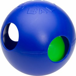 Jolly Pet - Dog Toy - Teaser Ball - Blue - 4.5""
