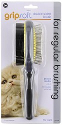 JW - Grip Soft - Double Sided Brush for Cats