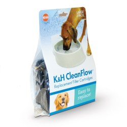 K&H - CleanFlow Filters - Large - 3 pack