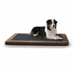 K&H - Comfy n' Dry Indoor/Outdoor Bed - Chocolate - Large