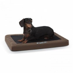 K&H - Comfy n' Dry Indoor/Outdoor Bed - Chocolate - Medium