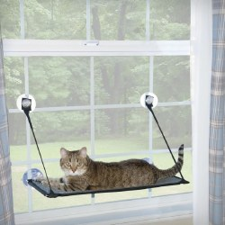 K&H - Cat Furniture - EZ Window Mount Kitty Sill