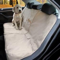Kurgo - Wander Bench Seat Cover - Khaki