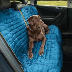Kurgo - Loft Bench Seat Cover - Blue and Orange