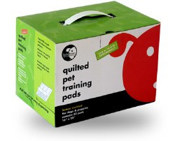 Lola Bean Quilted Training Pads - 22x22 - 50 count