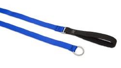 "Lupine - Basic - 1"" Wide Slip Lead - Blue - 6 feet"