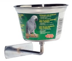 Living World - Stainless Steel Cup for Birds - 16 oz