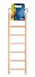 Living World - Wooden Ladder for Birds - 7 Step