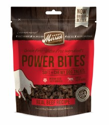 Merrick Power Bites - Real Beef Recipe - Dog Treats - 6 oz