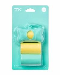 Modern Kanine - Bag Dispenser - Turquoise