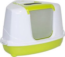 Moderna - Cat Litter Box - Corner Flip - Lemon