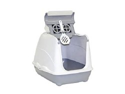 Moderna - Cat Litter Box - Jumbo Flip - Warm Gray