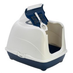 Moderna - Cat Litter Box - Large Flip - Blueberry